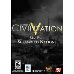 Civilization V - Map Pack: Scrambled Nations (Mac)