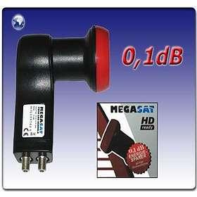 Megasat Diavolo Twin LNB 0.1dB