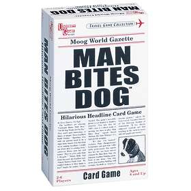 University Games Man Bites Dog Card Game (pocket)