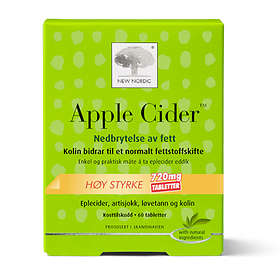 New Nordic Apple Cider 720mg High Strength 60 Tabletter