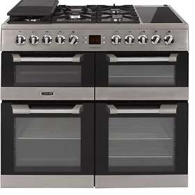 Leisure Cuisinemaster 100 Dual Fuel (Inox)