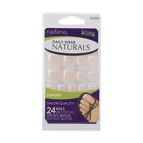 Nailene Daily Wear Naturals False Nails 24-pack