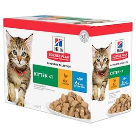 Hills Feline Science Plan Pouch Healthy Development Kitten Favourite 1