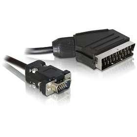 DeLock Scart - VGA 2m
