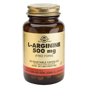 Solgar L-Arginine 500mg 50 Kapslar