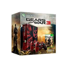 Microsoft Xbox 360 Slim 320Go - Gears of War 3 Limited Edition
