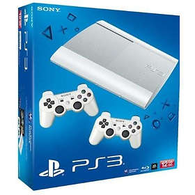 Sony PlayStation 3 Slim 12Go (+ 2nd DualShock) - White Edition