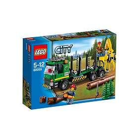 LEGO City 60059 Logging Truck