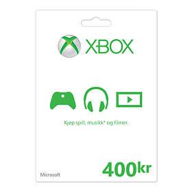 Microsoft Xbox Gift Card - 400 NOK