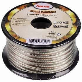 Hama High Quality Professional Acoustic 2x0.75mm 10m