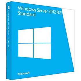 Microsoft Windows Server 2012 R2 Standard 2 CPU Fra (64-bit OEM)