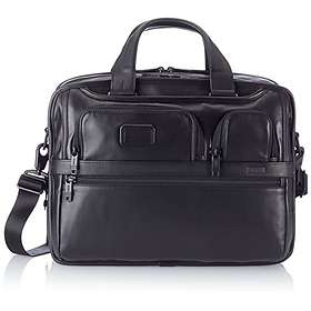 Tumi Alpha Expandable Organizer Laptop Leather Brief 15""