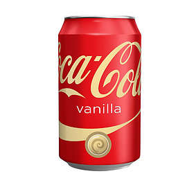 Coca-Cola Vanilla Burk 0,33l 24-pack