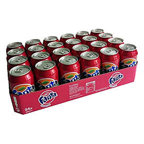 Fanta Strawberry & Kiwi Burk 0,355l 24-pack