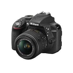 Nikon D3300 + 18-55/3.5-5.6 VR II