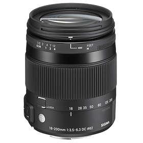 Sigma AF 18-200/3,5-6,3 DC HSM Contemporary Macro for Nikon