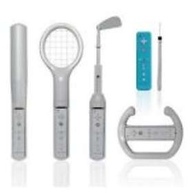 CTA Digital Grand Slam 6 in 1 Sports Pack (Wii)