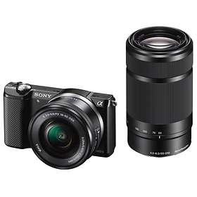 Sony Alpha A5000 + 16-50/3,5-5,6 OSS + 55-210/4,5-6,3 OSS
