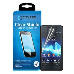 Coverd Clear Shield Screen Protector for Sony Xperia V