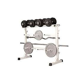Gorilla Sports Universal Weight Rack