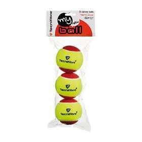 Jämför priser på Tecnifibre My New (3 bollar) Tennisbollar - Hitta ... 55732f1f106c8