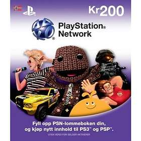 Sony PlayStation Network Card - 200 NOK