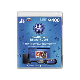 Sony PlayStation Network Card - 400 NOK