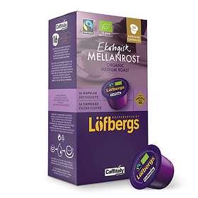 Löfbergs Caffitaly Ekologisk Mellanrost 16st (kapslar)