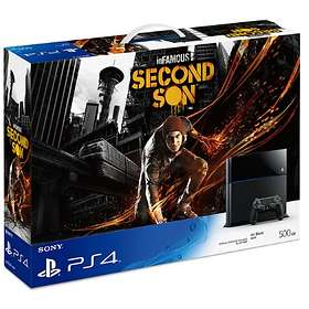 Sony PlayStation 4 500GB (+ inFamous: Second Son)