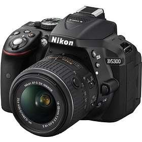 Nikon D5300 + 18-55/3.5-5.6 VR II