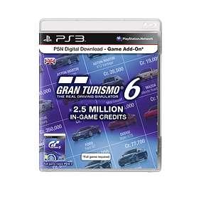 Gran Turismo 6 - 2.5 Million In-Game Credits