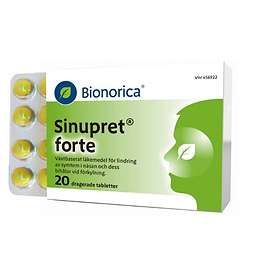 Bionorica Sinupret Forte 20 Tabletter