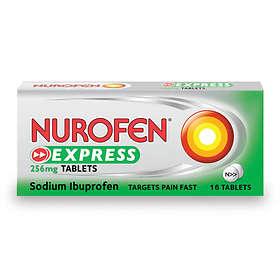 Reckitt Benckiser Nurofen Express 256mg 16 Tablets
