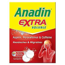Pfizer Anadin Extra Soluble 12 Tablets