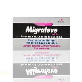 McNeil Migraleve Pink 12 Tablets