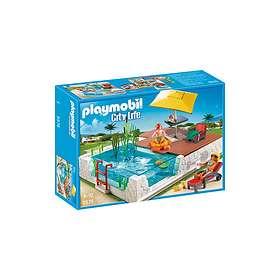 Playmobil City Life 5575 Piscine avec terrasse