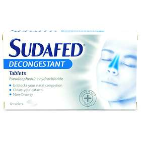 McNeil Sudafed Decongestant 60mg 12 Tablets