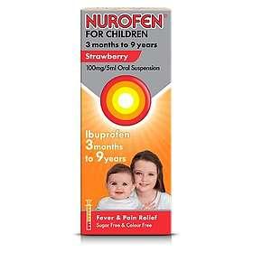 Reckitt Benckiser Nurofen for Children 100mg/5ml Oral Suspension 100ml