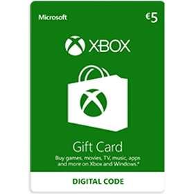 Microsoft Xbox Gift Card - 5 EUR