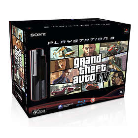 Sony PlayStation 3 40Go (+ Grand Theft Auto IV)