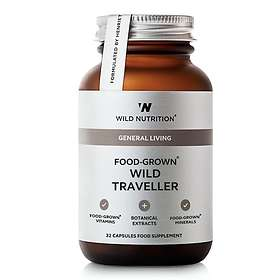 Wild Nutrition Food-Grown Wild Traveller 32 Kapslar
