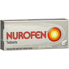Reckitt Benckiser Nurofen 200mg 12 Tablets