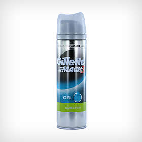 Gillette Mach3 Close & Fresh Shaving Gel 200ml