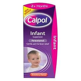Calpol Sugar Free Infant Suspension Strawberry 100ml