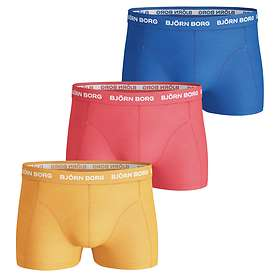 Björn Borg Seasonal Solids Short Shorts 3-Pack
