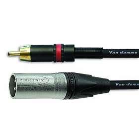 Van Damme Neutrik XLR - 1RCA 3m