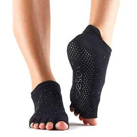 ToeSox Half Toe Low Rise Grip Sock