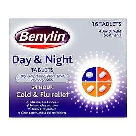 McNeil Benylin Day & Night 16 Tablets