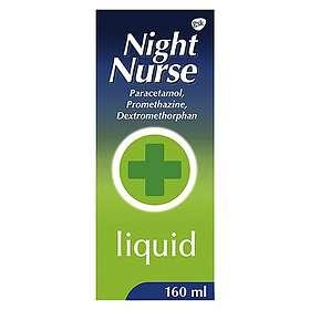 GSK GlaxoSmithKline Night Nurse Cold & Flu Elixir 160ml