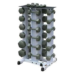Body Solid WDR-80 4 Tier Vertical Dumbell Rack
